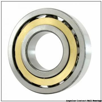 0.472 Inch | 12 Millimeter x 0.827 Inch | 21 Millimeter x 0.276 Inch | 7 Millimeter  CONSOLIDATED BEARING 3801-2RS  Angular Contact Ball Bearings