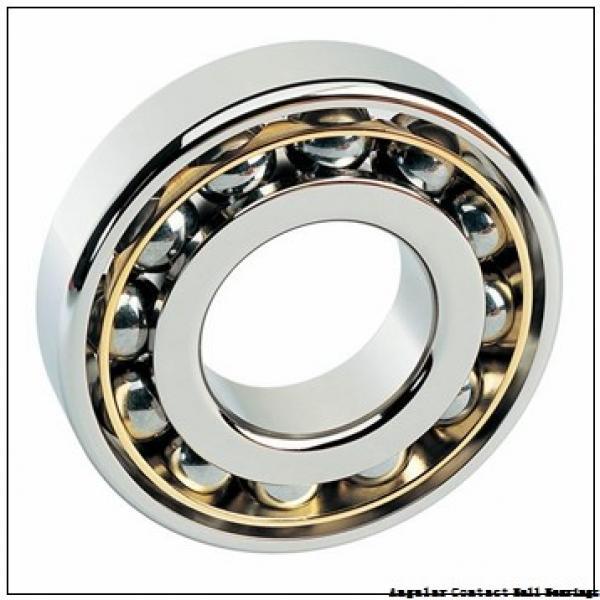 0.669 Inch   17 Millimeter x 1.024 Inch   26 Millimeter x 0.276 Inch   7 Millimeter  CONSOLIDATED BEARING 3803-2RS  Angular Contact Ball Bearings #2 image