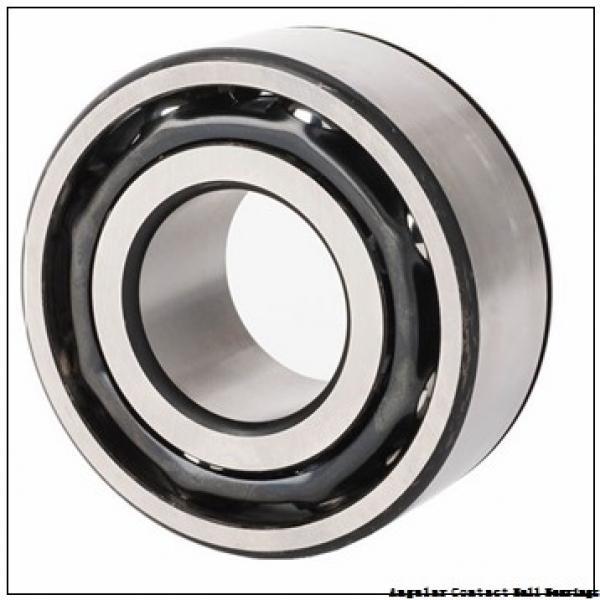 2.756 Inch | 70 Millimeter x 4.921 Inch | 125 Millimeter x 1.563 Inch | 39.7 Millimeter  CONSOLIDATED BEARING 5214  Angular Contact Ball Bearings #1 image